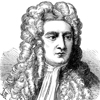 incisione Isaac Newton